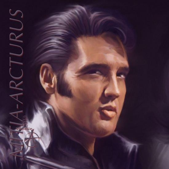 Elvis Presley por Mitia_Arcturus